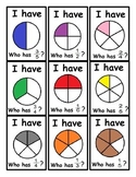 I have, Who has Fractions Review Game