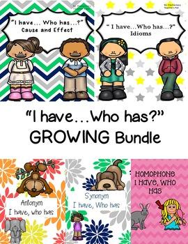 I have...Who has?- GROWING Bundle