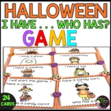 I have, Who has? Halloween Game
