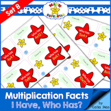 I have-Who has? Multiplication Facts Game Set B