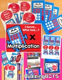 I have... Who has... Multiplication Game