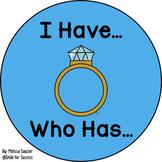I have, Who has {-NG}