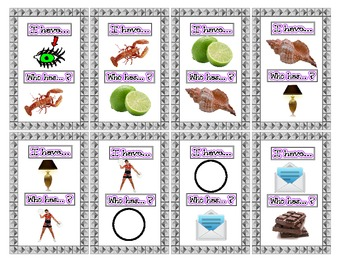 I have... Who has...? Picture /L/ Articulation Practice Game- Speech Therapy