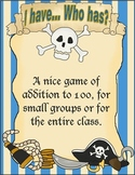I have... Who has? Pirate addtion game