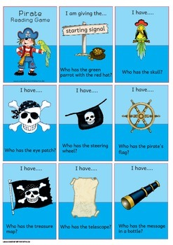 I have.... Who has ...?  --- Pirates