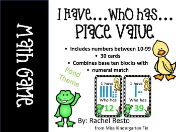 I have...Who has... Place Value