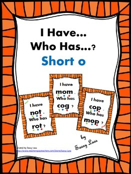 I have... Who has..? Short O Common Core Aligned