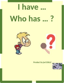 Time in English I have Who has