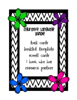 I have, Who has cards - Figurative Language