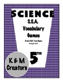 """""""I have Who has"""" for Electricity and Forces - SSA Science Vocabulary"""