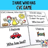 I have, Who has? CVC Game