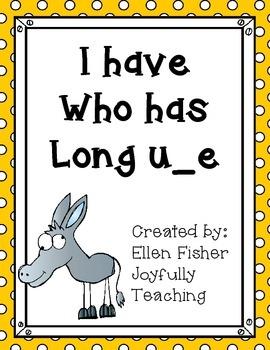 I have Who has long u silent or magic e