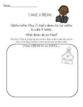I have a DREAM... Martin Luther King Jr