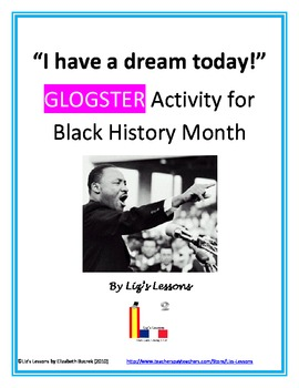 """I have a Dream!""  Black History Activity with Glogster"