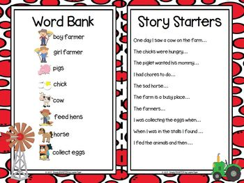 I have A Story In My Pocket:  LOW PREP Farm Storytelling Activities
