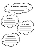 I have a dream writing
