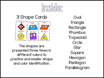 I have, who Has? SHAPES