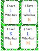 I have who has... Alphabet