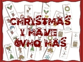 I have who has CHRISTMAS Vocabulary