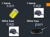 I have, who has CVC, Alphabet, Magic E, Digraphs and templ