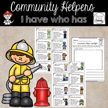 Community helpers I have who has Game!