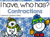 I have, who has? Contractions