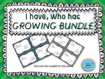 I have who has GROWING BUNDLE