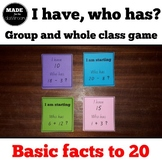 I have who has Basic facts games x 4