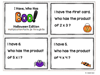 I have, who has Halloween Edition!