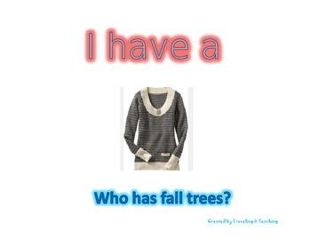 I have, who has ... Seasons
