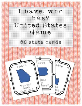 I have, who has United States Game - 50 states