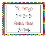 I have who has/Yo tengo quien tiene Additon cards