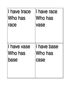 I have who has a consonant e