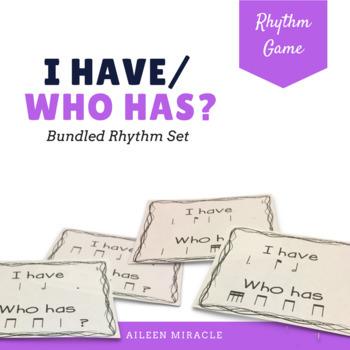 I have/ who has rhythmic bundled set