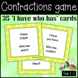 I have who has contraction cards