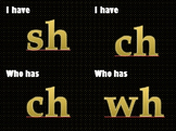 I have, who has diagraph and blends - phonics game