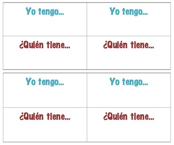I have, who has game TEMPLATE in Spanish