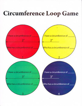 I have who has game for circumference of circles