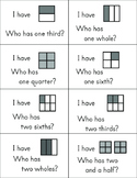 I have... who has... game for fractions