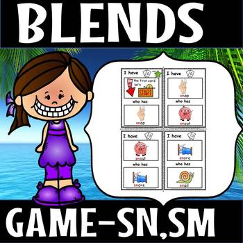 I have who has game for sn sm blends(50% off for 48 hours)