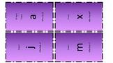 I have who has lowercase alphabet