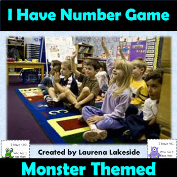 I have who has number game, numbers to 120 - Grade 1