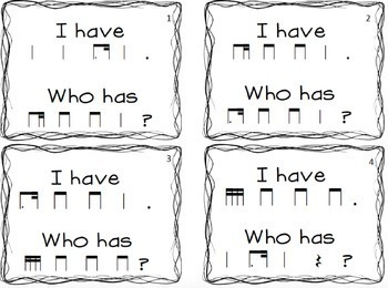 I have/ who has tim-ka game