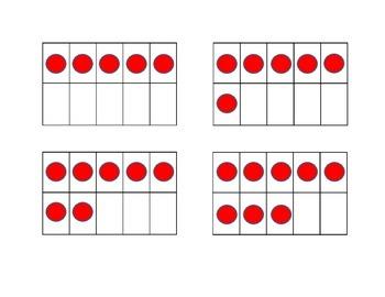 Ten Frame Matching Game
