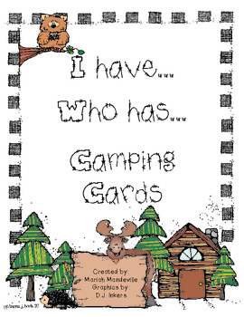 I have...Who has... Camping cards!