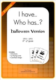 I have...Who has...? Halloween
