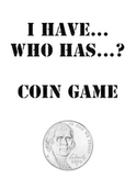 I have...Who has...? Money Game