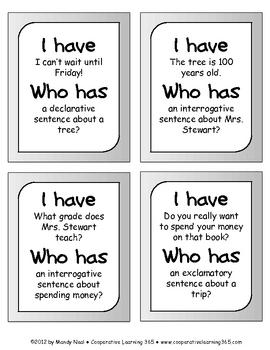 has have sentences