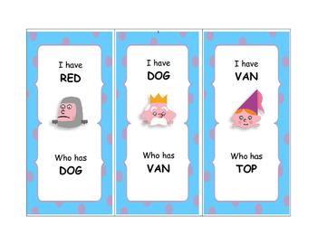 I have...who has? Fairytale CVC Game