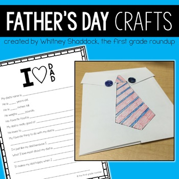 Father's Day Crafts and Activities